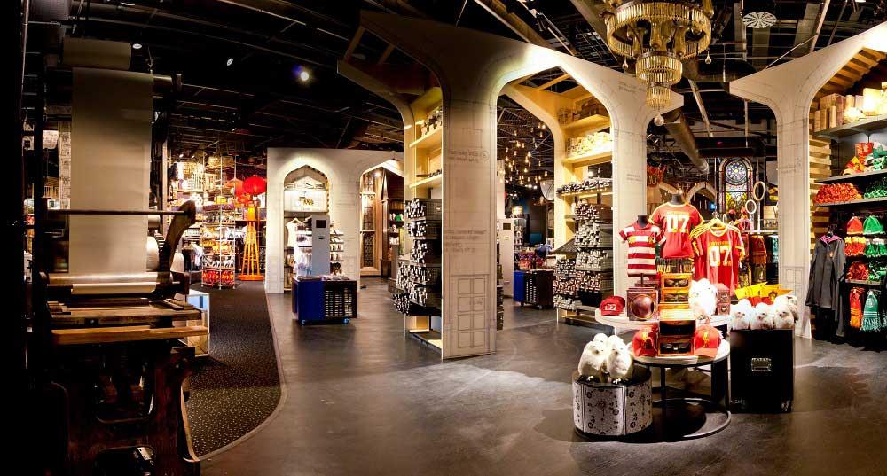 Harry potter studios gift shopt