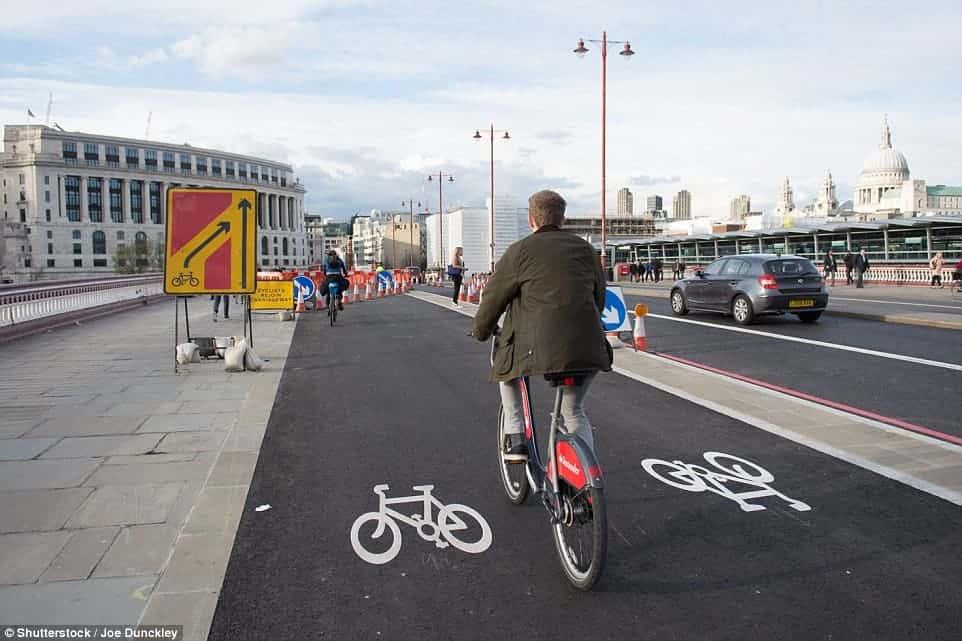 piste ciclabili londra in bicicletta