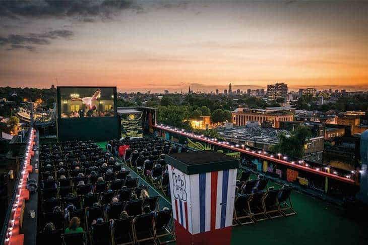 cinema londra estate