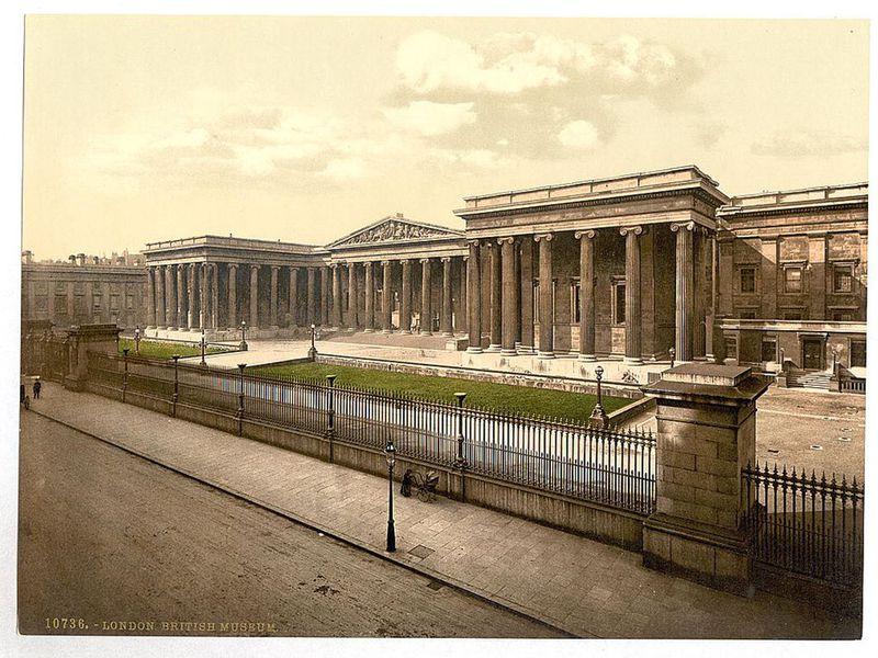 british museum storia