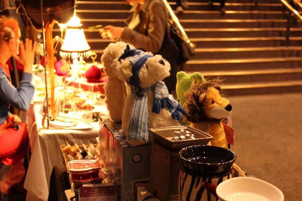 mercatini duckie natale a londra 2019