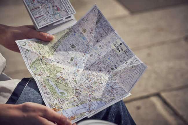 mappa londra