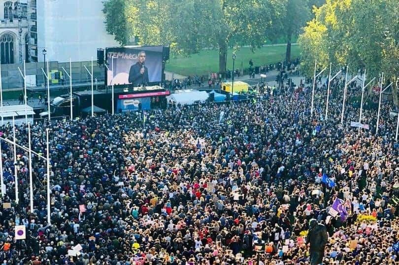 manifestazione brexit