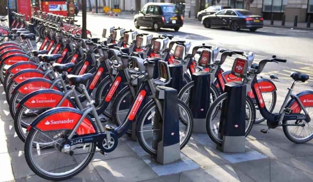 noleggio bici londra bike sharing santander