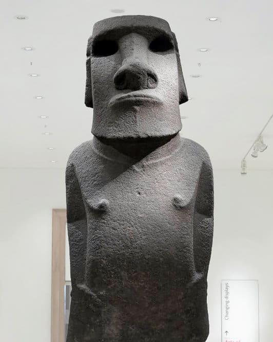 british museum isola di pasqua