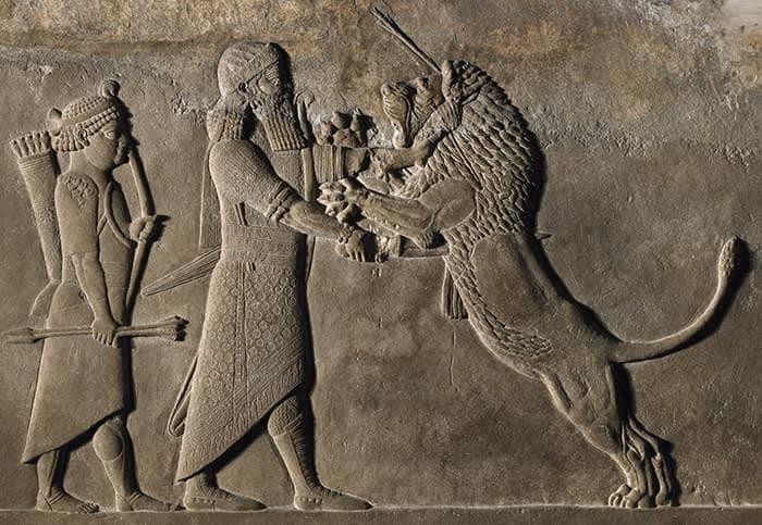 british museum assiri