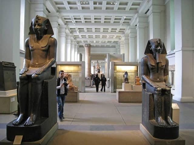 british museum gallerie egizie