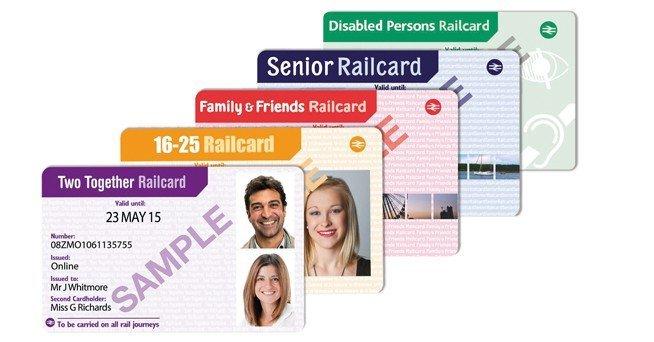 rail card londra